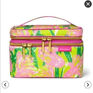NWT Lilly Pulitzer Cosmetic Bag -Fan Dance